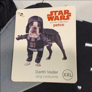 XXL Dog / Pet Halloween Darth Vader costume